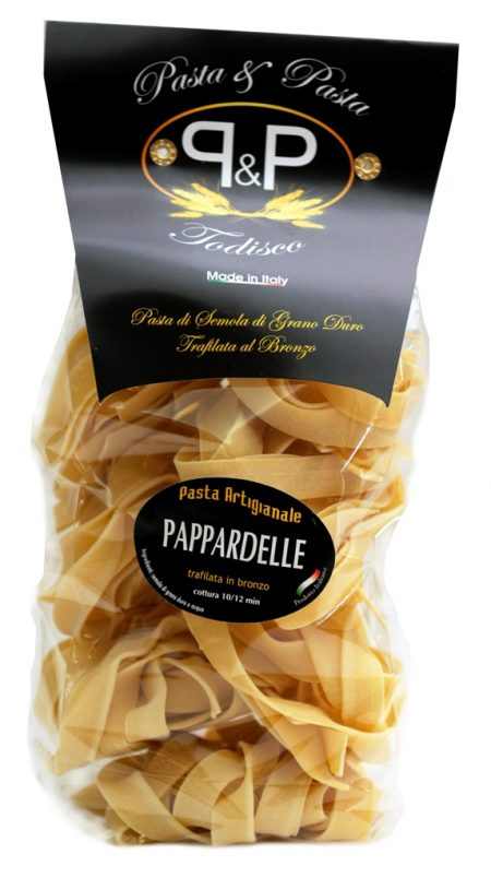 Pappardelle nidi