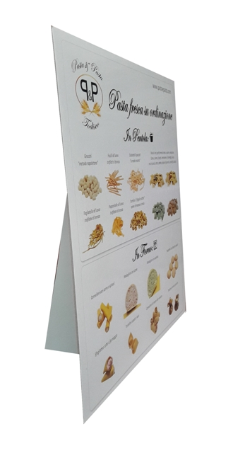 FRESH PASTA DISPLAYER P&P