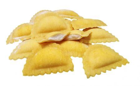 Mezzelune formaggio e mozzarella